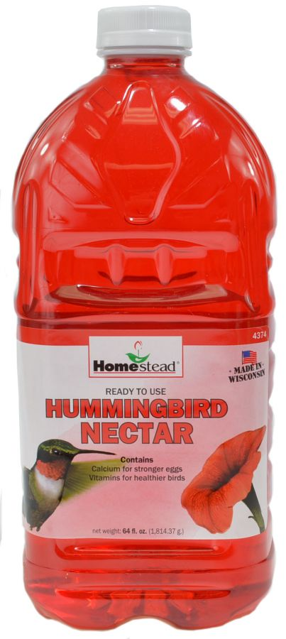 Homestead Hummingbird Red Ready to Use Liquid Nectar