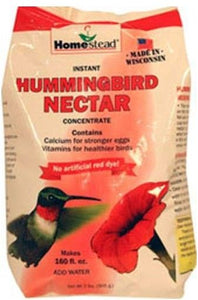 Homestead Hummingbird Natural Red Powder Nectar Concentrate