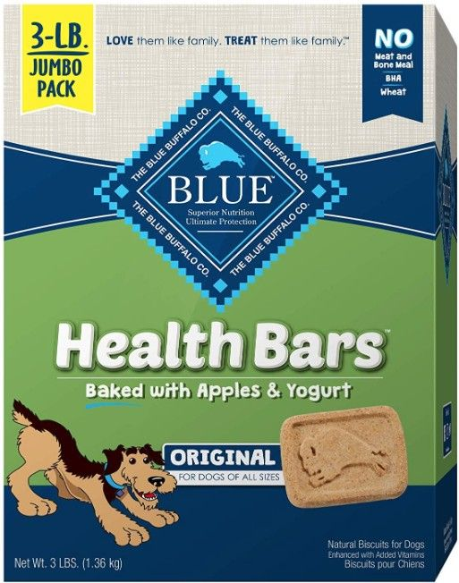Blue Buffalo Health Bars Natural Crunchy Dog Treats