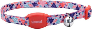 Coastal Pet Safe Cat Breakaway Collar Collar Multi Triangle