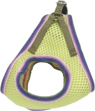 Li'L Pals Lime Harness with Mutli-Color Lining