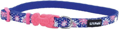 Li'L Pals Reflective Collar - Flowers with Dots