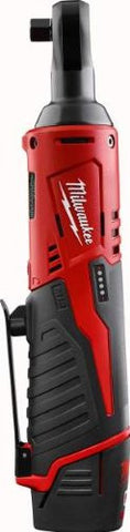 3/8-in Cordless M12 Lithium-Ion Ratchet Kit Milwaukee 2457-21 Buy Now