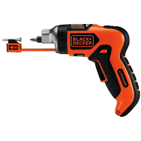 4-Volt Lithium-Ion SmartSelect Screwdriver with Magnetic Screw Holder BLACK+DECKER LI4000 Buy Now