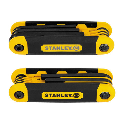 2-pack Stanley STHT71839 Folding Metric and Sae Hex Keys Buy Now
