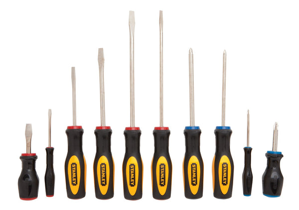 Stanley 60-100 10-Piece Standard Fluted Screwdriver Set 1 Buy Now