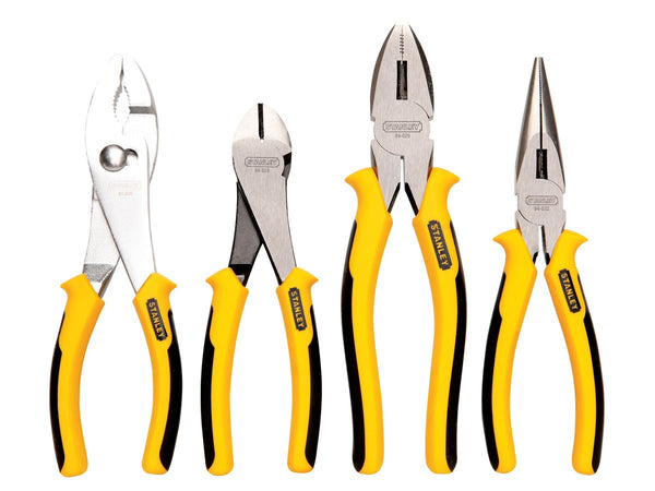 "4-Piece Pliers Set 7"", 8"" Stanley 84-058 Buy Now"