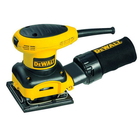 2.4-amp 1/4 Sheet Palm Grip Sander with Cloth Dust Bag DEWALT D26441 Buy Now