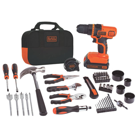20-Volt MAX Lithium-Ion Drill and Project Kit Drill/project Kit BLACK+DECKER LDX120PK Buy Now