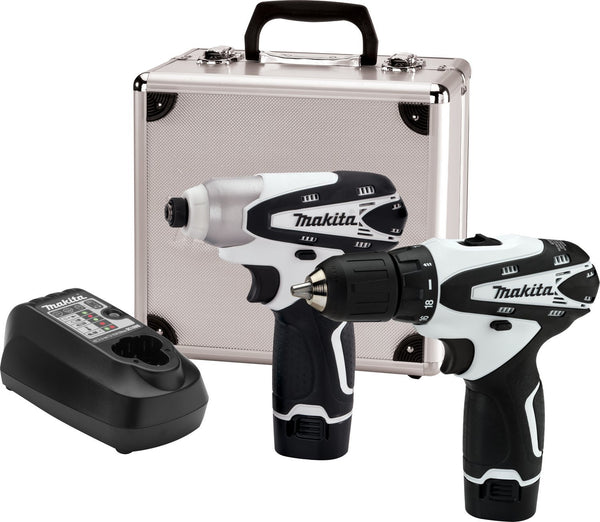 12-Volt Max Lithium-Ion Cordless Combo Kit Black 2-Piece Kit Makita LCT209W Buy Now