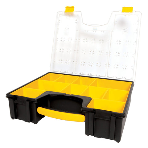 Removable Bin Compartment Deep Professional Organizer 10 Compartments Stanley Buy Now