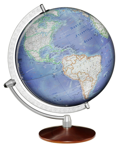 Discovery Expedition Matterhorn 12-inch Blue Tabletop Globe