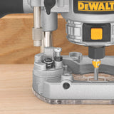 1.25 HP Max Torque Variable Speed Compact Router Combo Kit with LEDs DEWALT DWP611PK Buy Now
