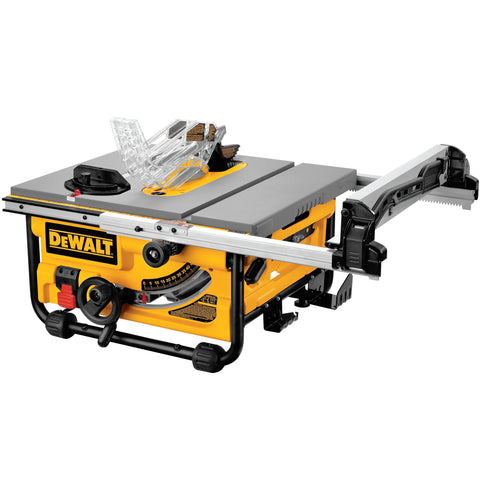 10-inch Compact Job-Site Table Saw with 20-Inch Max Rip Capacity 120V DEWALT DW745 Buy Now