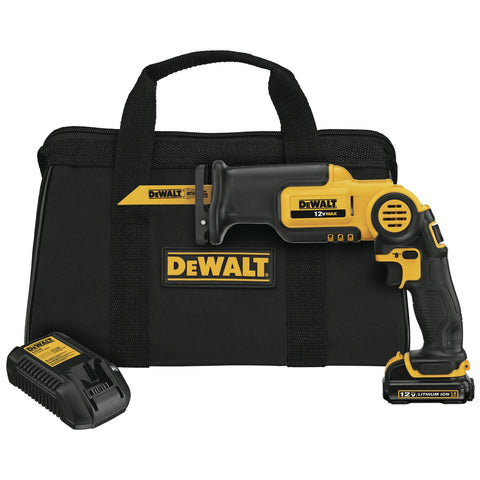 12-Volt MAX Pivot Reciprocating Saw Kit DEWALT DCS310S1 Buy Now
