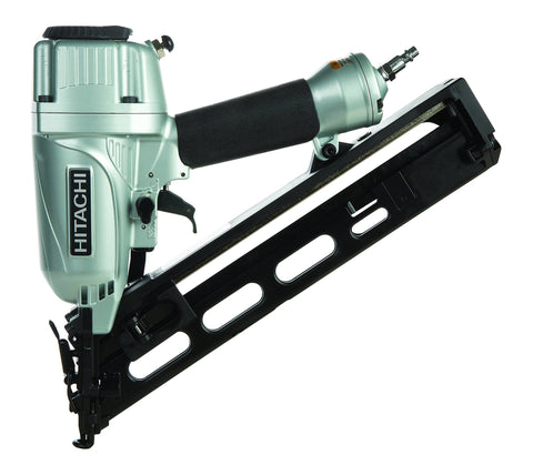 1-1/4-inch to 2-1/2 inch 15-Gauge Angled Finish Nailer with Air Duster Hitachi NT65MA4 Buy Now