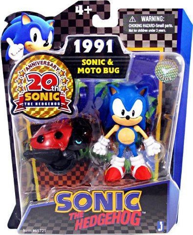 Sonic 20th Anniversary 3.5-inch Action Figure Sonic Moto Bug