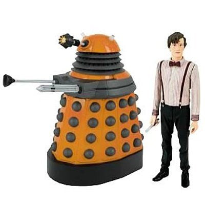 Eleventh Doctor Who with Dalek Scientist Action Figures