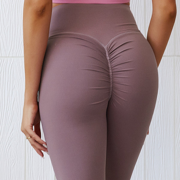 FITEWE - Scrunch Peach bum Leggings - Great for contouring your curves