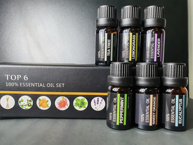 Essential oil - The Essential Starter Kit- Comprised of 6 of the most popular essential oils to get you started