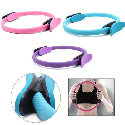 Soft Rubber Pilates Ring or Fitness Circle great resistance prop for strengthening your body