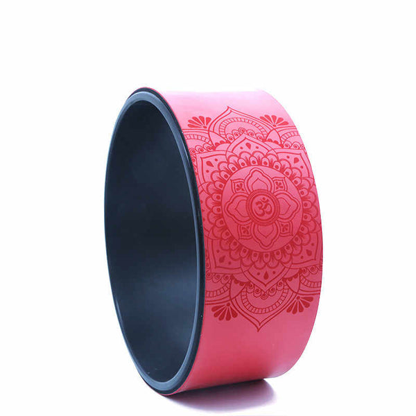Yoga PU  Wheel with black inner facing -Non-slip grip technology