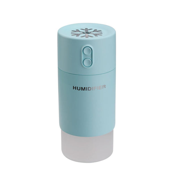 Humidifier/ Diffuser- Snowflake design Humidifier ideal to use in a car, has a USB connection.