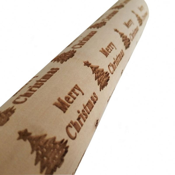 Christmas Embossed Rolling Pins