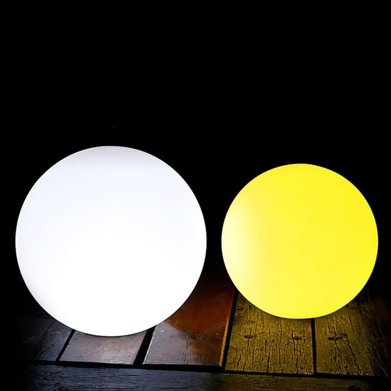 rechargeable Light Ball- super bright Led changing colours separate charger 8hrs illumination