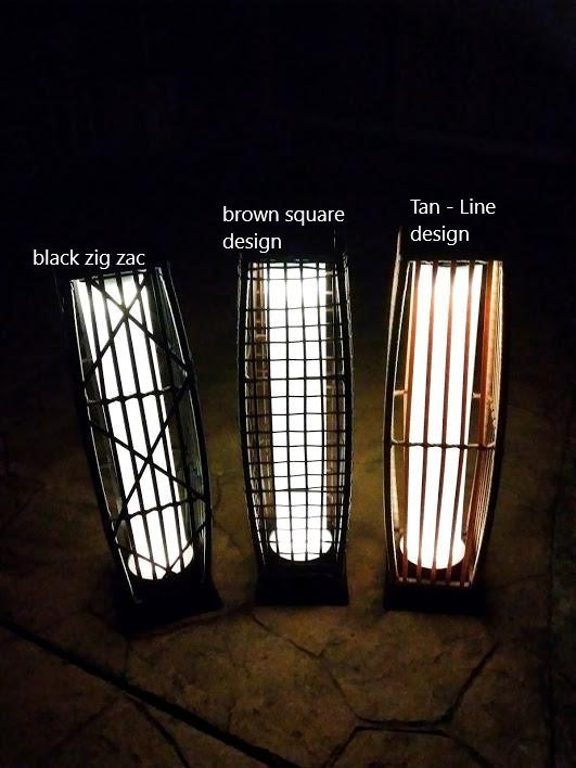 Outdoor Solar Rattan lamp- Eco-friendly , solar , suitable for outdoor gardens and patios