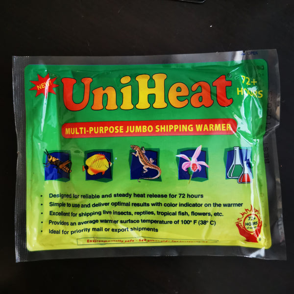 60 or 72 hour heat pack