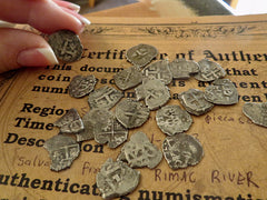 custom ancient coin jewelry pieces