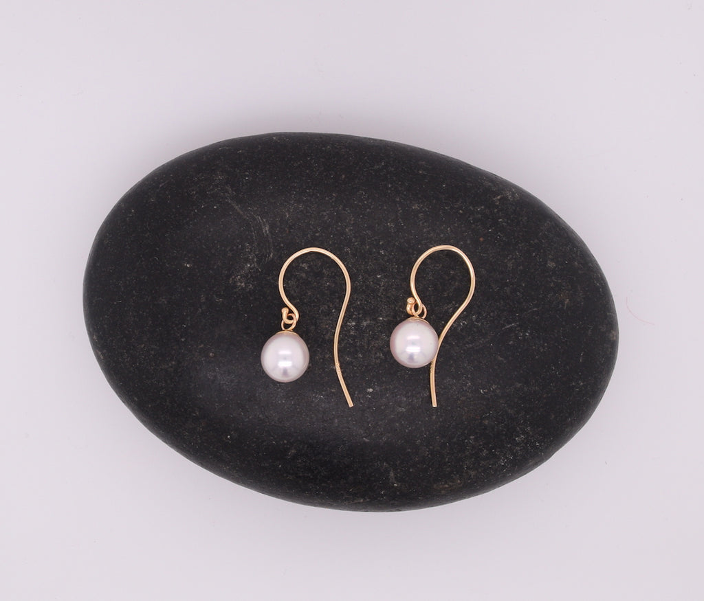 Akoya Pearl Drop Earrings