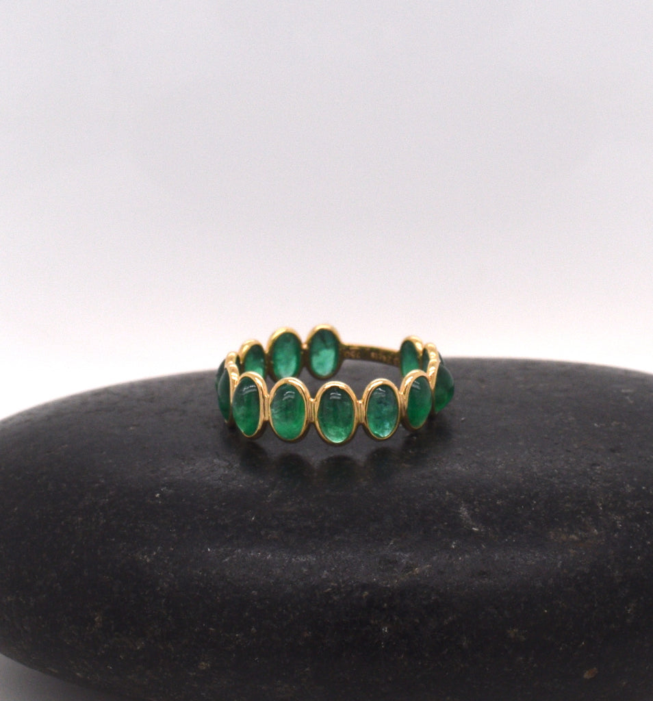 Emerald Candy Stackable Ring