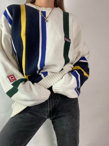 Vintage chaps overeized sweater