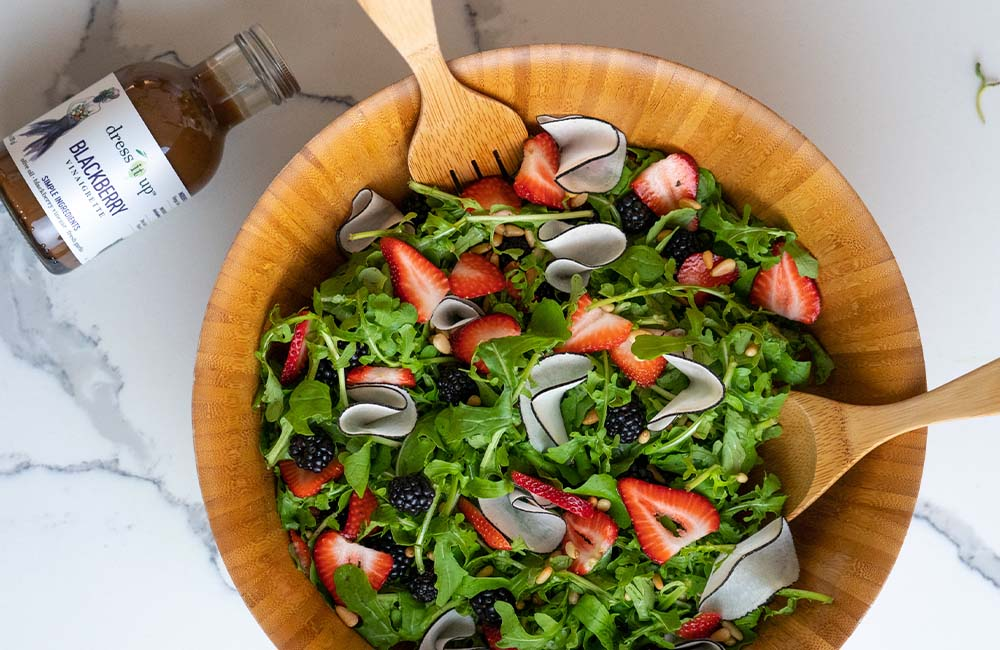 Arugula & Berry Salad