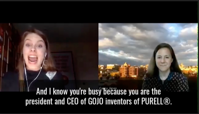 Exclusive interview with the CEO of GOJO, parent company of PURELL!!