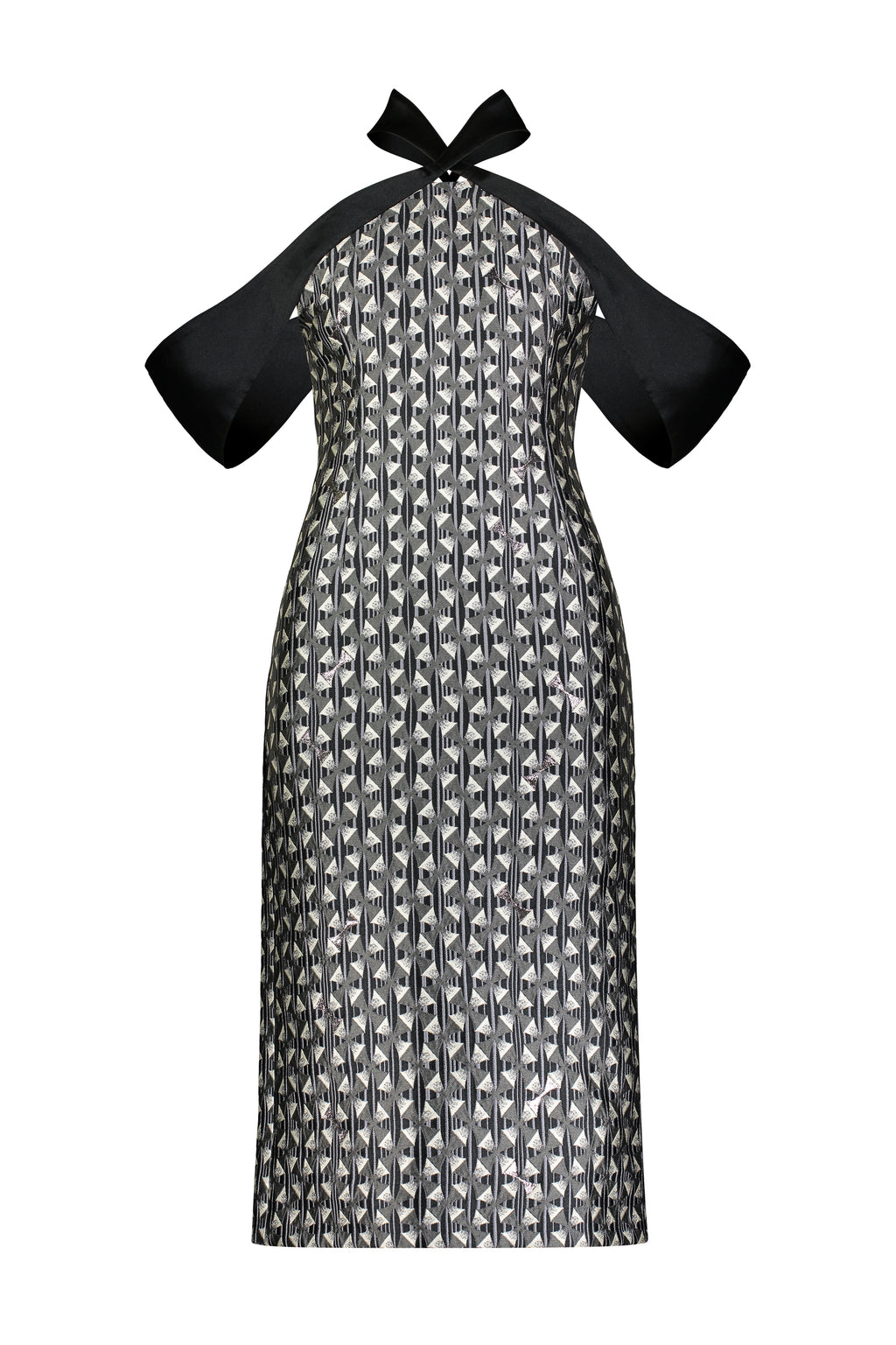Washington Roberts Kite Dress - Edo Dancer Geometric print - Alter Neck Dress