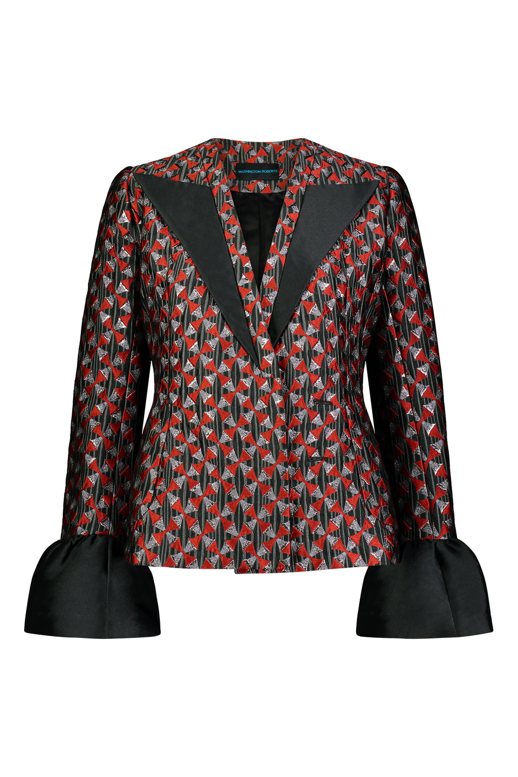 Washington Roberts Refleex blazer in Edo Dancer Geometric print - Tailored  Womens Suit