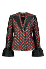 Load image into Gallery viewer, Washington Roberts Refleex blazer in Edo Dancer Geometric print - Tailored  Womens Suit
