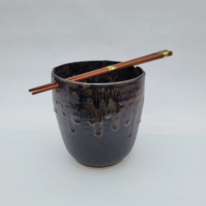 Chopstick bowl - Gold Flux