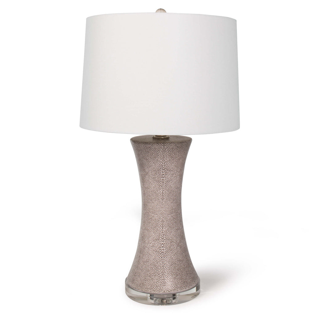 Clara Ceramic Shagreen Table Lamp