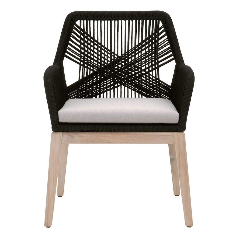 Loom Outdoor Arm Chair