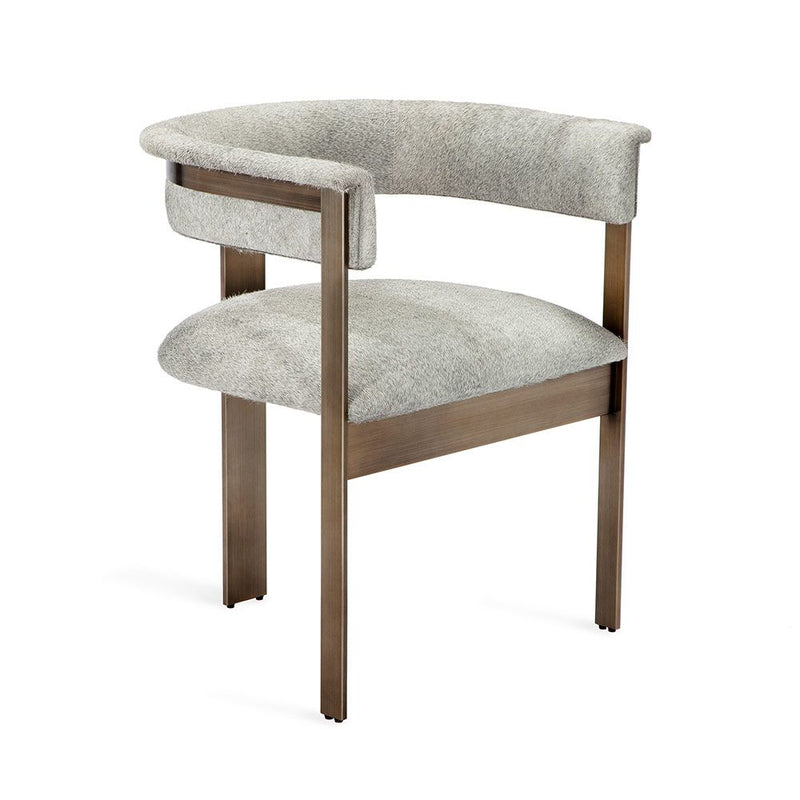 Darcy Hide Chair - Bronze