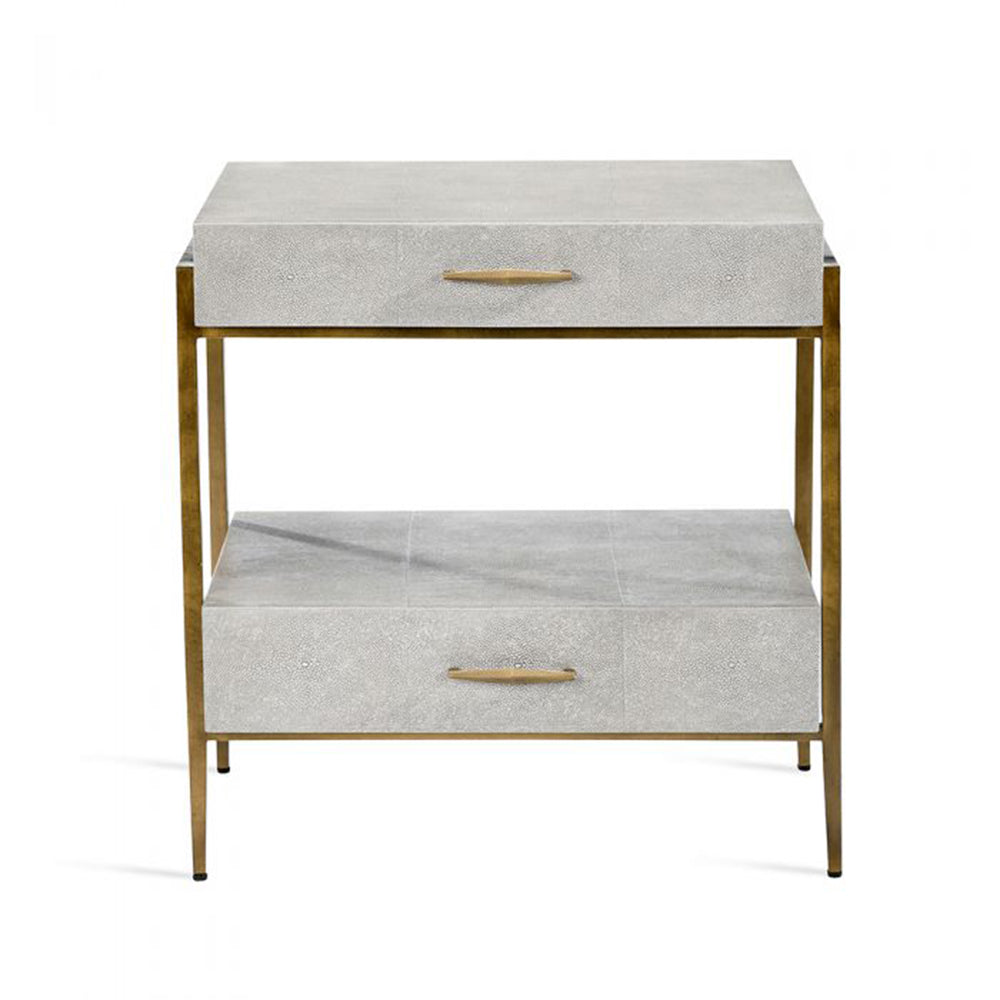 Morand Bedside Chest - Grey