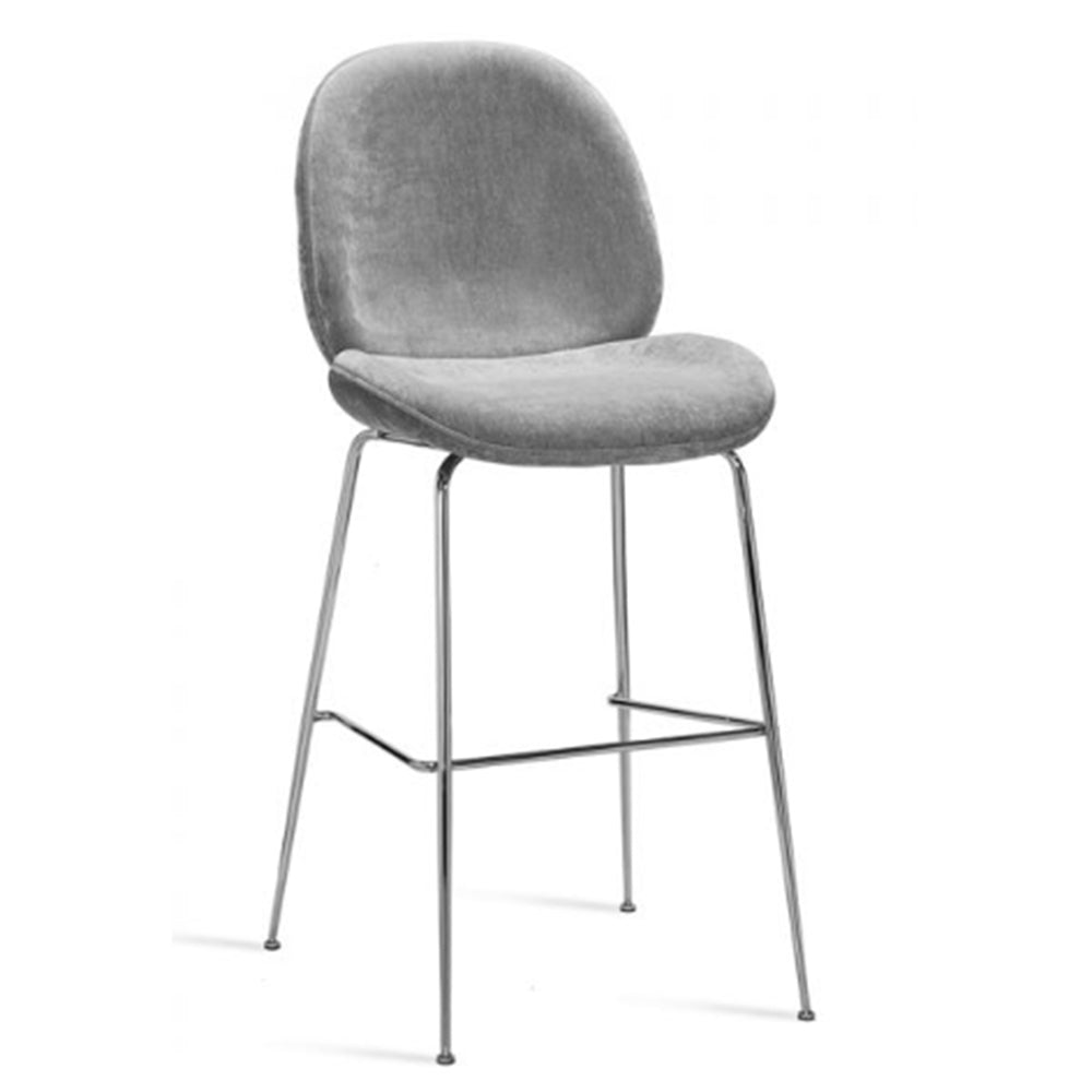 Luna Bar Stool - Ocean Grey