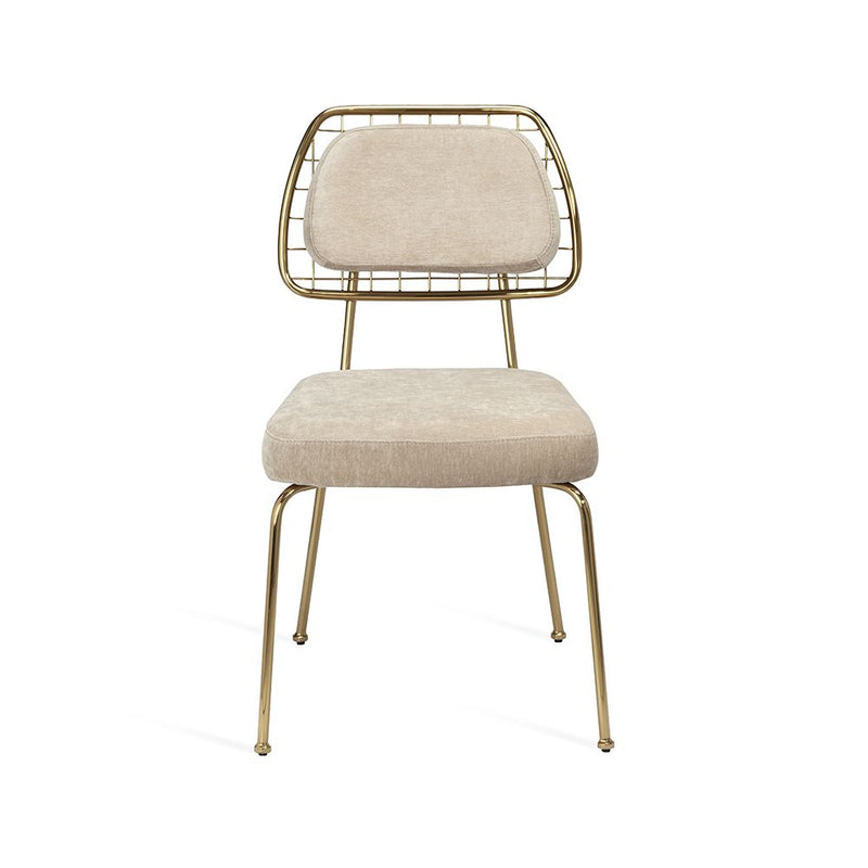 Milan Dining Chair - Beige