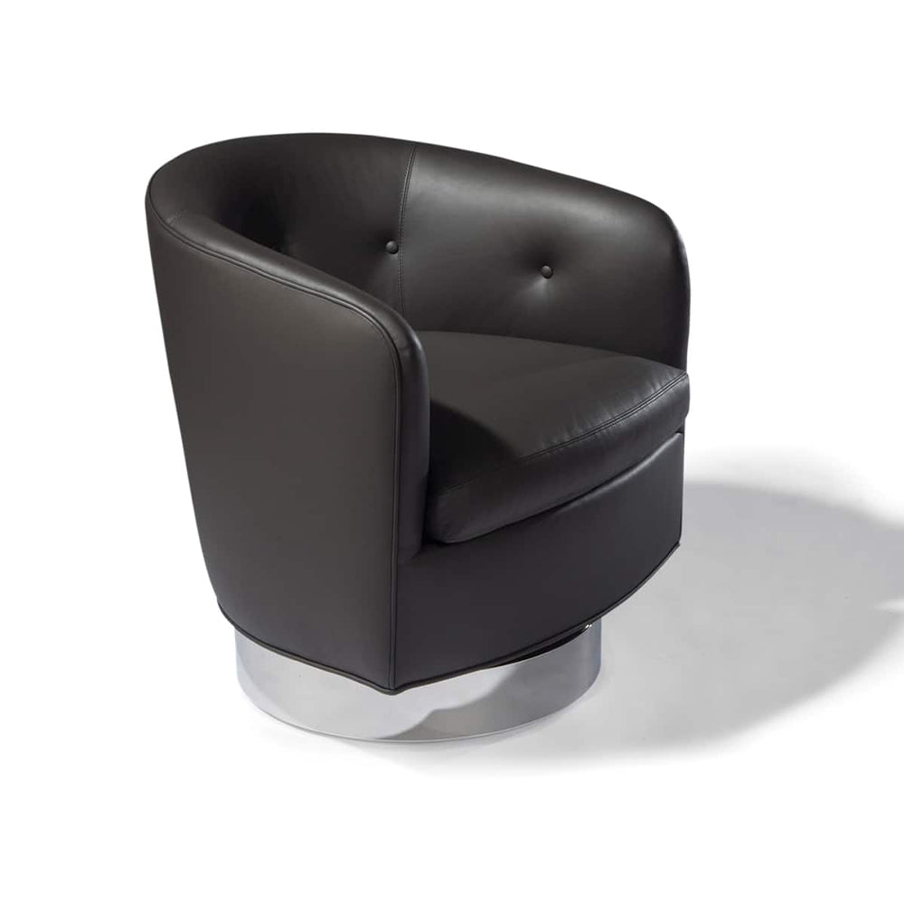 Roxy-O Swivel-Tilt Tub Chair by Milo Baughman 1965