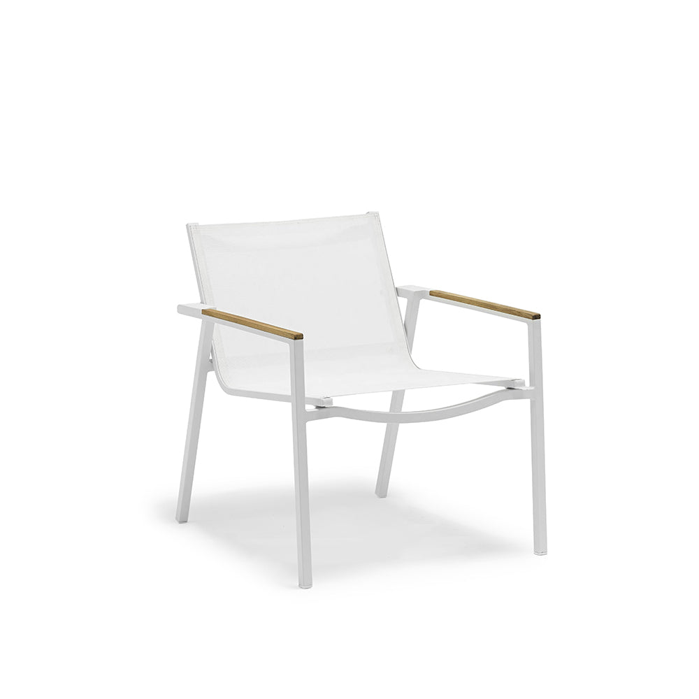 Ella Occasional Chair with Teak Arms