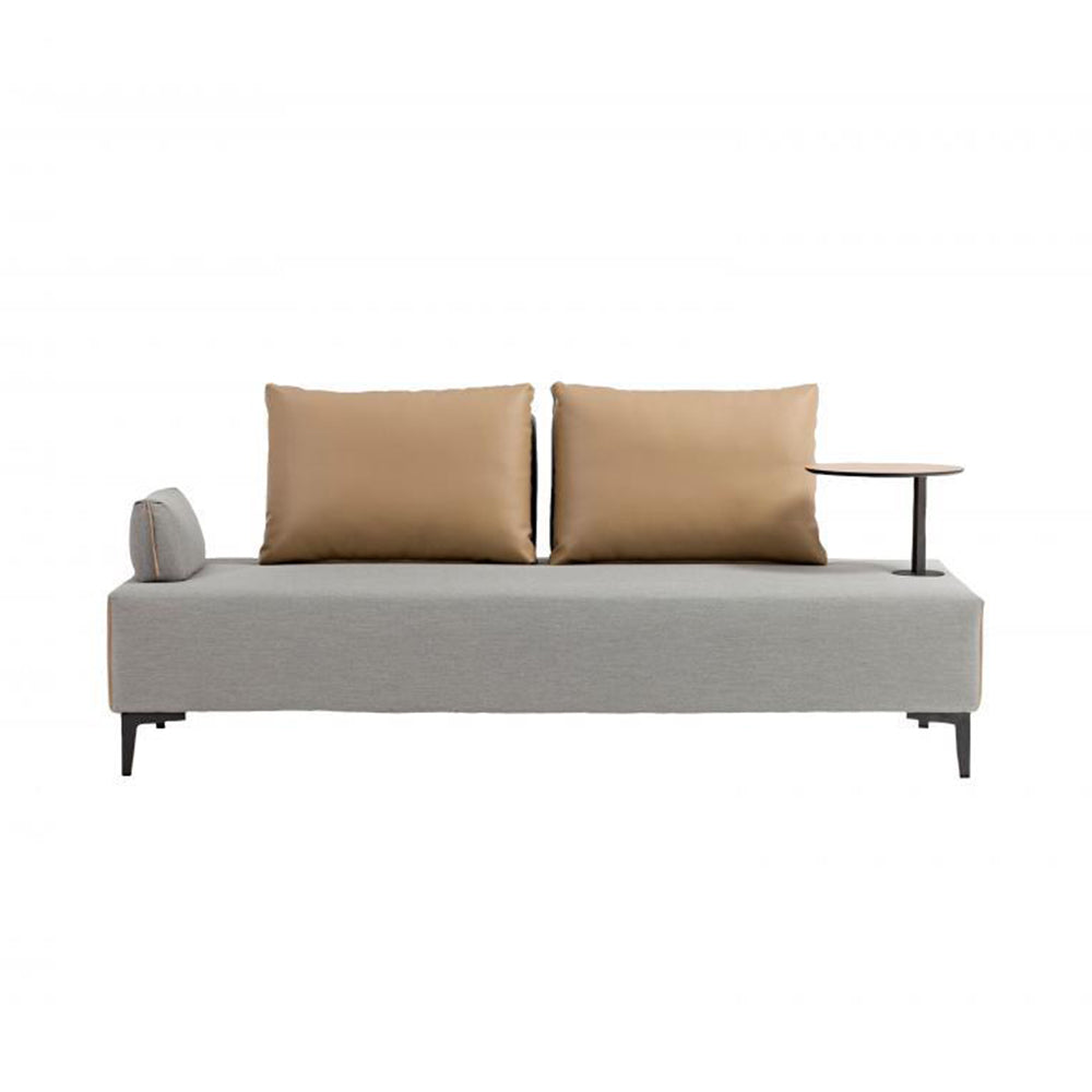 "Flexi 79"" Sofa with One Table, Arm and Cushion"